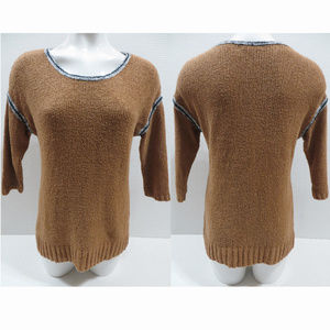 J.Crew sweater Size? pullover knit contrast trim